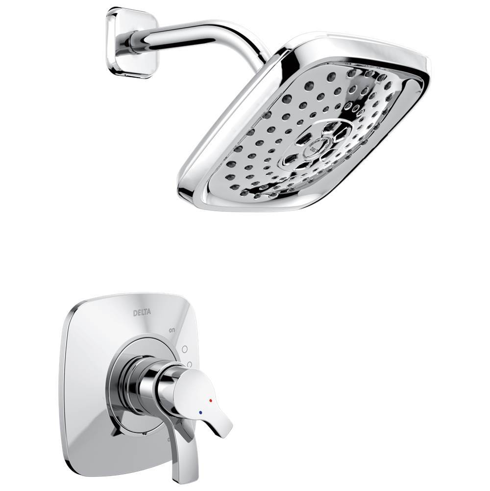 Delta Faucet Shower Only Faucets With Head Chrome | Dahl Distinctive ...