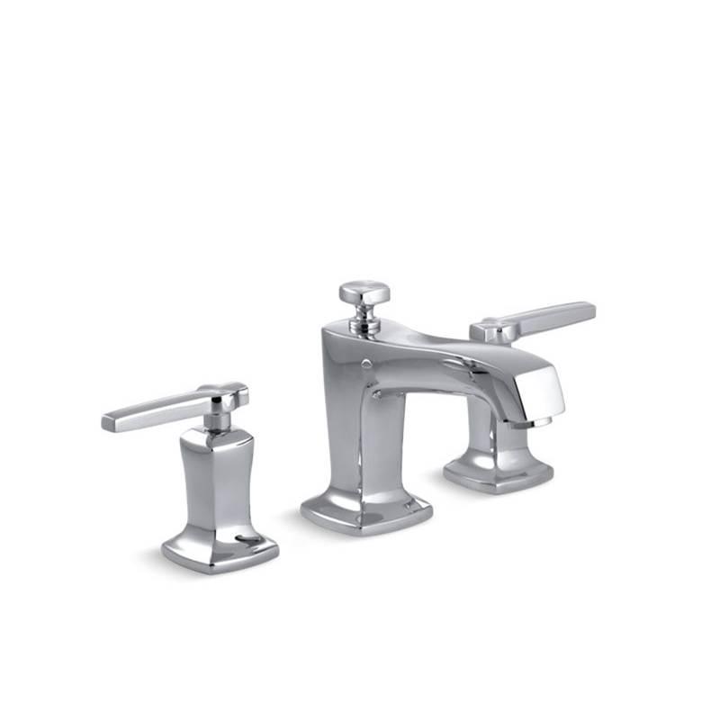 Kohler CP At Dahl Distinctive Design Widespread Bathroom - Kohler bathroom sink faucets widespread