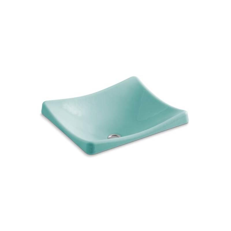 Kohler Bathroom Sinks Vessel Solid Colors Vapour Green | Dahl ...
