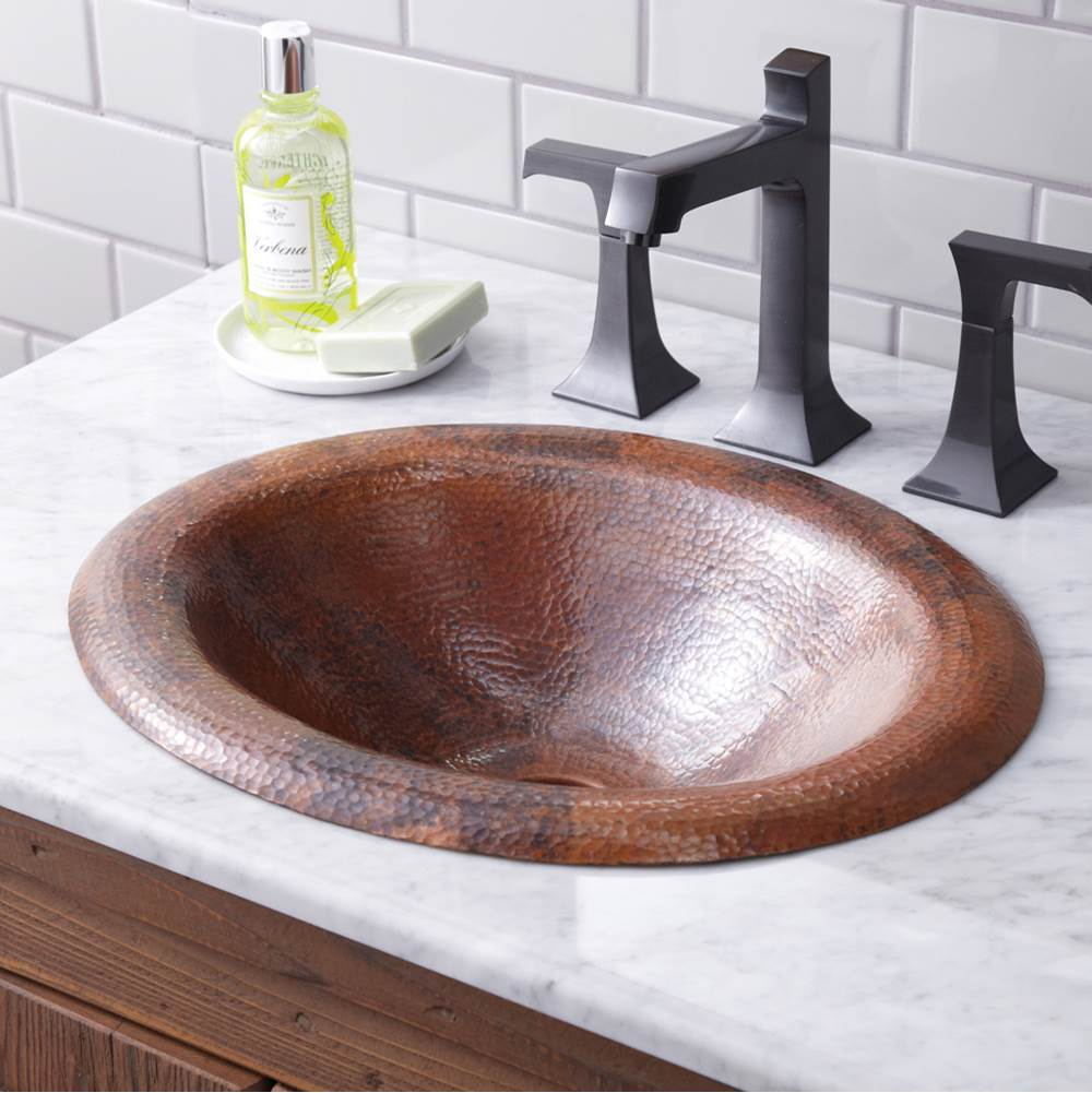 Native Trails - CPS386 - Maestro Lotus Bathroom Sink in Tempered Copper