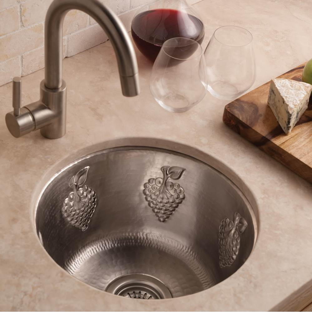 Native Trails CPS561 At Dahl Distinctive Design Drop In Bar Sinks In A  Decorative Brushed Nickel Finish
