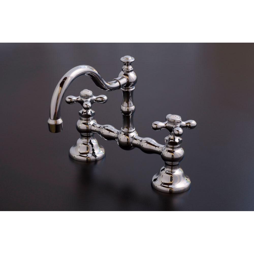 Chrome Bridge Bathroom Faucet. bathroom faucets landfair bridge ...